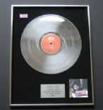 SIMPLY RED Picture Book PLATINUM LP presentation Disc